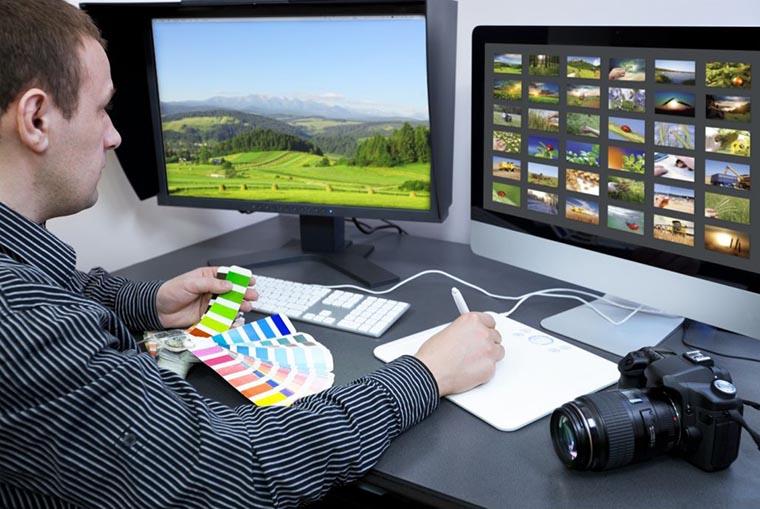 Экраны для графических редакторов