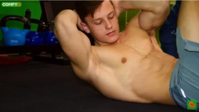 Як накачати косі м'язи живота