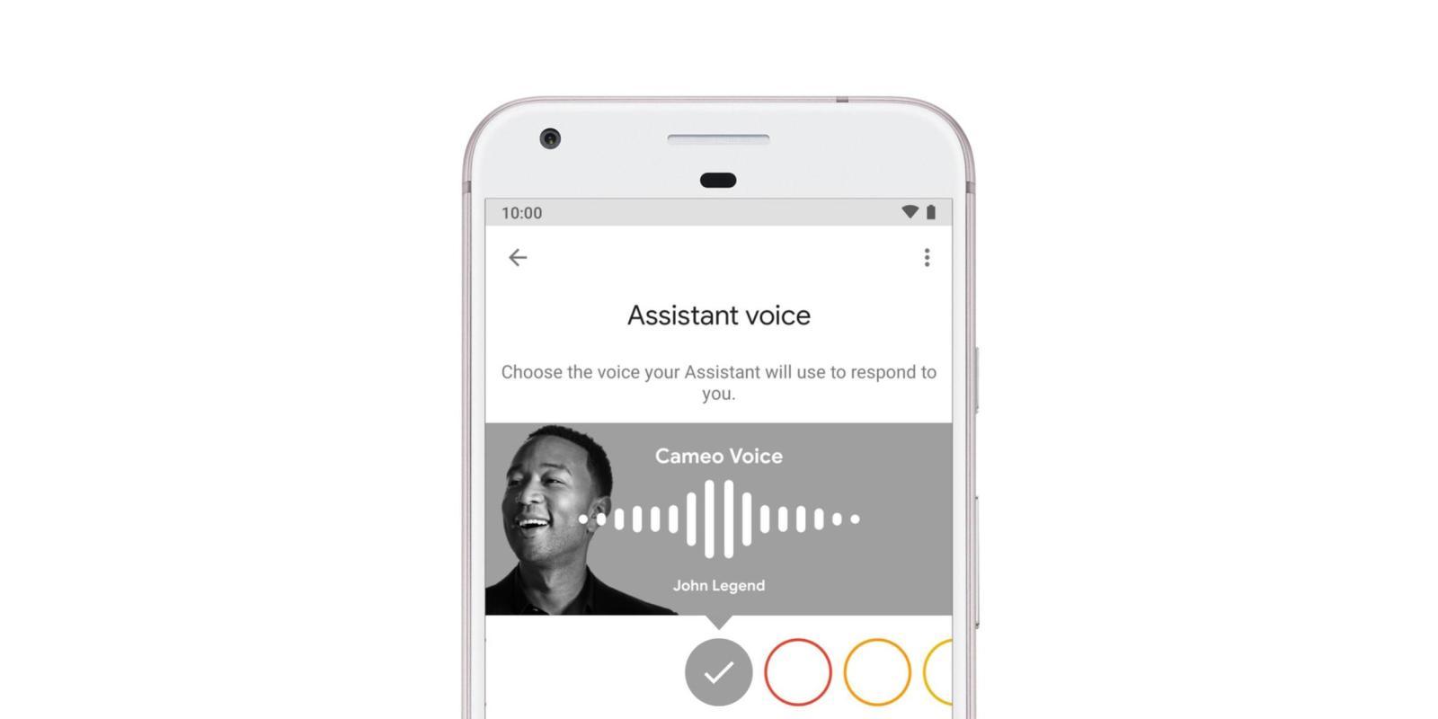 Google Ассистент получит голоса знаменитостей 1