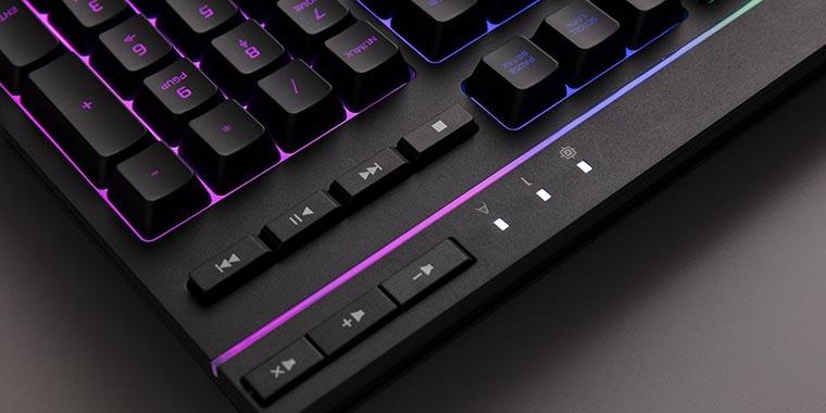 HyperX Alloy Core RGB мультимедийные кнопки