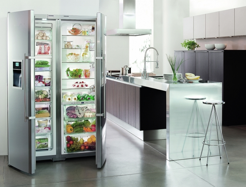 Избавляемся от плохого запаха в холодильнике - холодильник в интерьере кухни