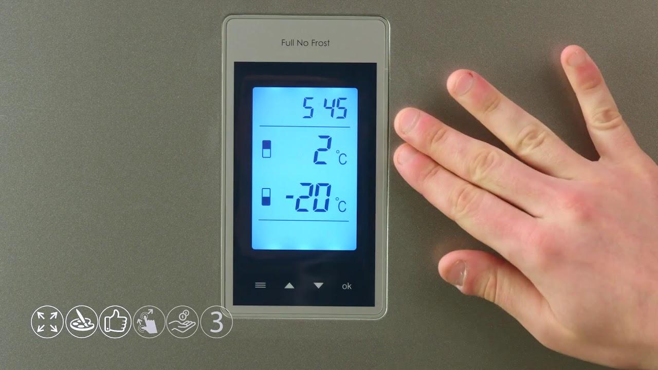 Как выбрать холодильник_на что нужно обратить внимание - панель управления с дисплеем