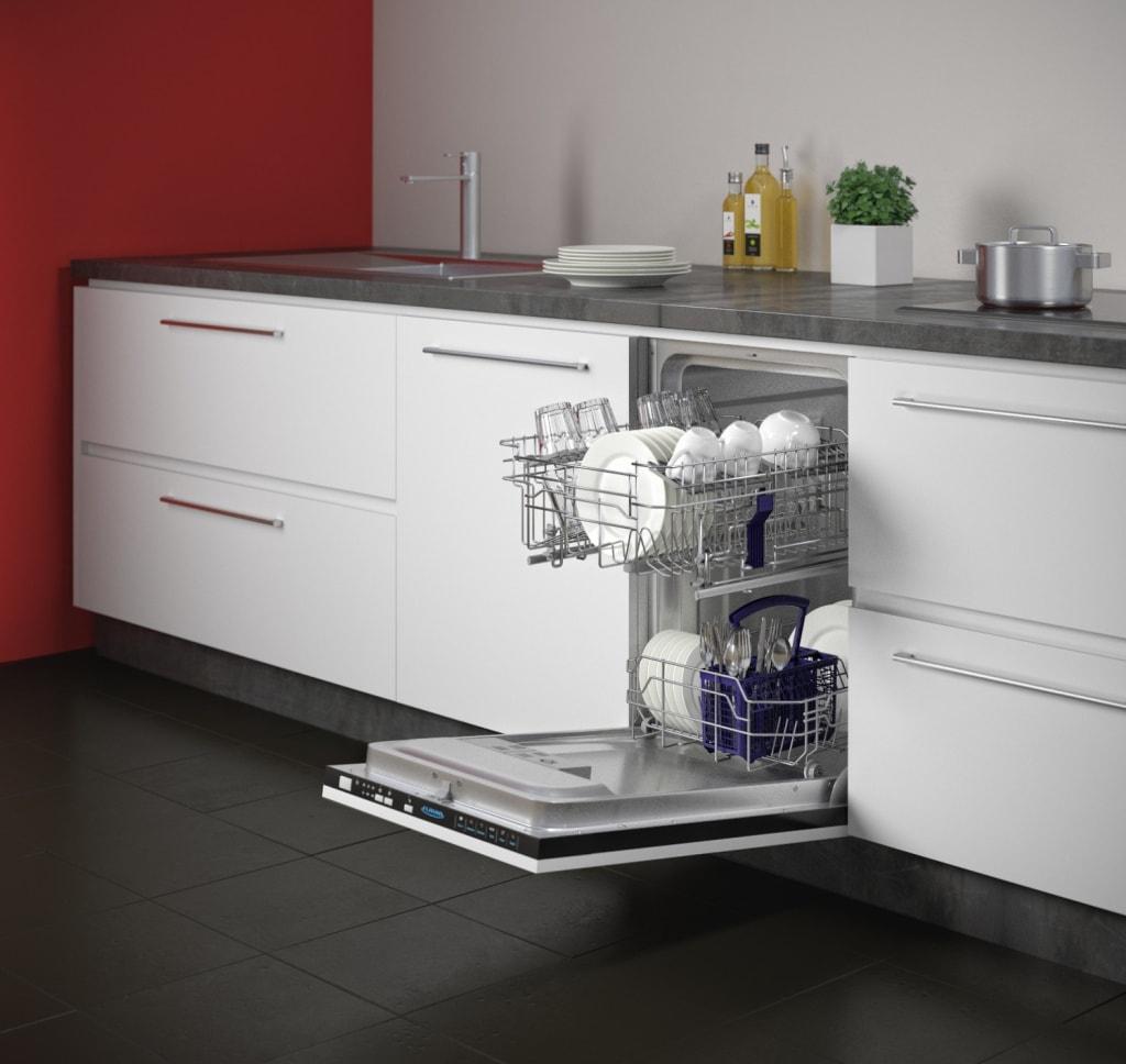 Как выбрать посудомоечную машину - тарелки в посудомойке
