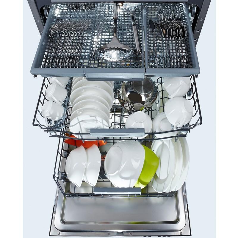 Как выбрать посудомоечную машину - третья корзина в посудомоечной машине