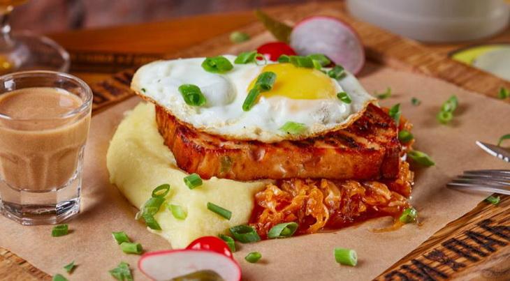 Леберкезе-мясной хлеб