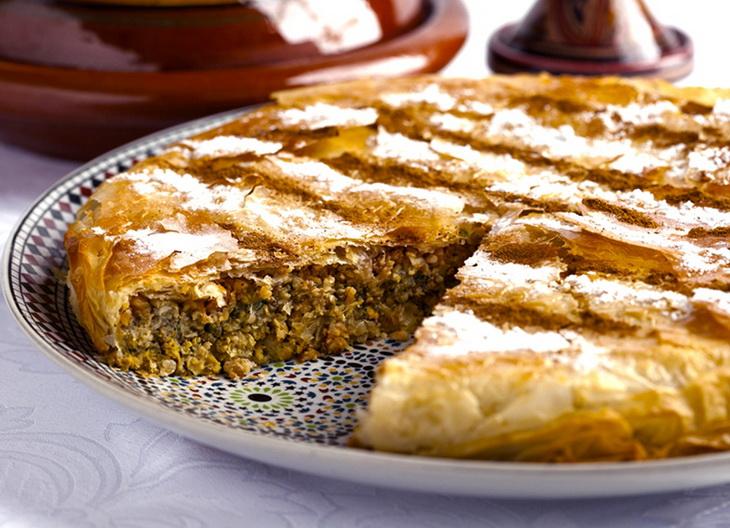 Марокканская пастилья-еда на бегу
