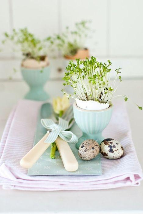 Мини-вазочки из скорлупы-идея 7