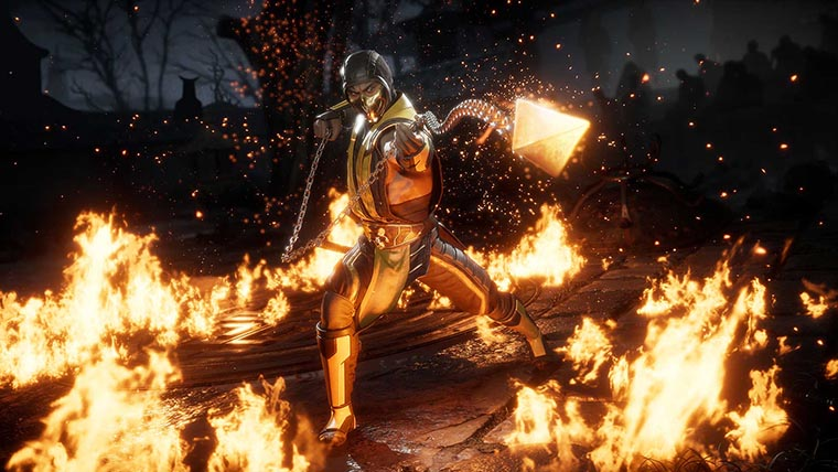 Персонажи в Mortal Kombat 11