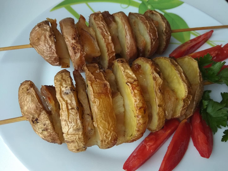 Шашлыки из картофеля