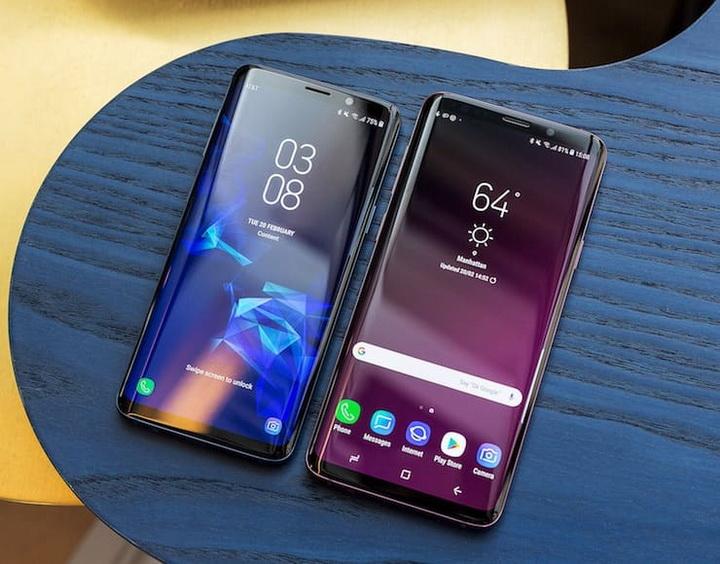 Samsung Galaxy S9 и Galaxy S9 Plus-экраны смартфонов