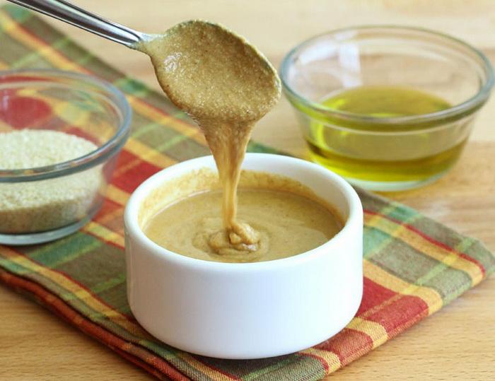 Тахини-кунжутная паста