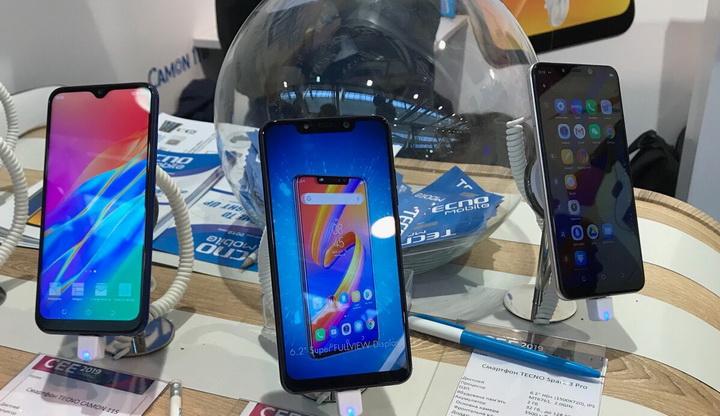 Tecno Mobile на CEE-2019-трехкамерный Camon 11S