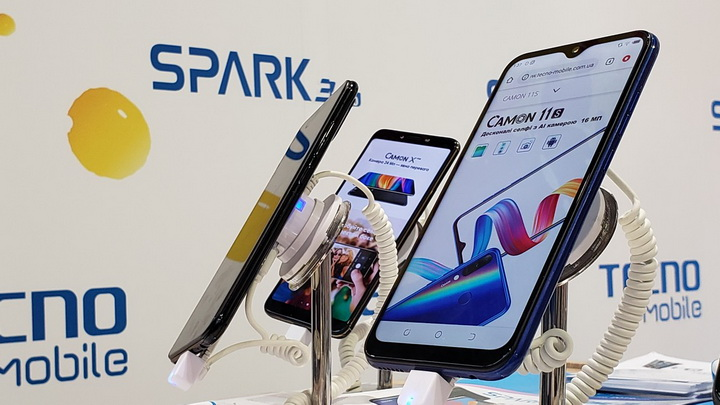 Tecno Mobile-серии Spark и Camon.
