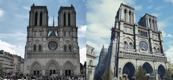 В восстановлении собора Парижской Богоматери поможет игра 3