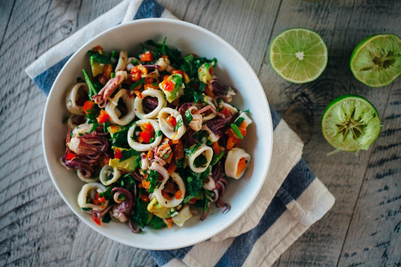 диетический-салат-из-кальмаров