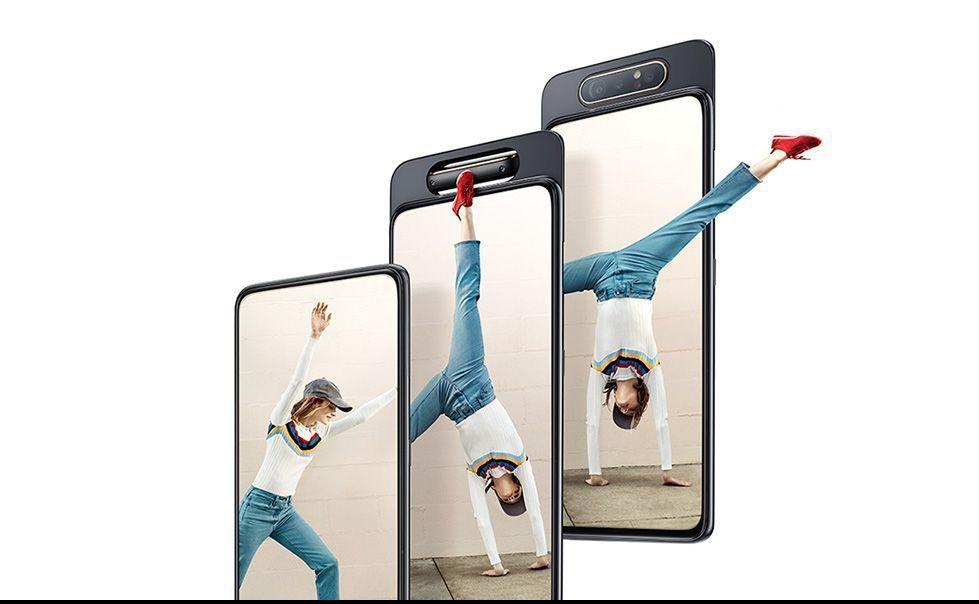 новый Samsung Galaxy A80 1
