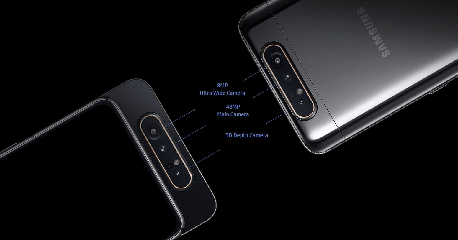 новый Samsung Galaxy A80 4