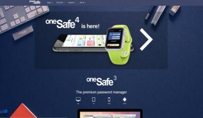 Місце паролів oneSafe