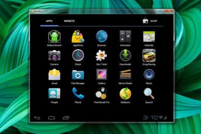 Емулятор Андроїд для Windows - Windroy