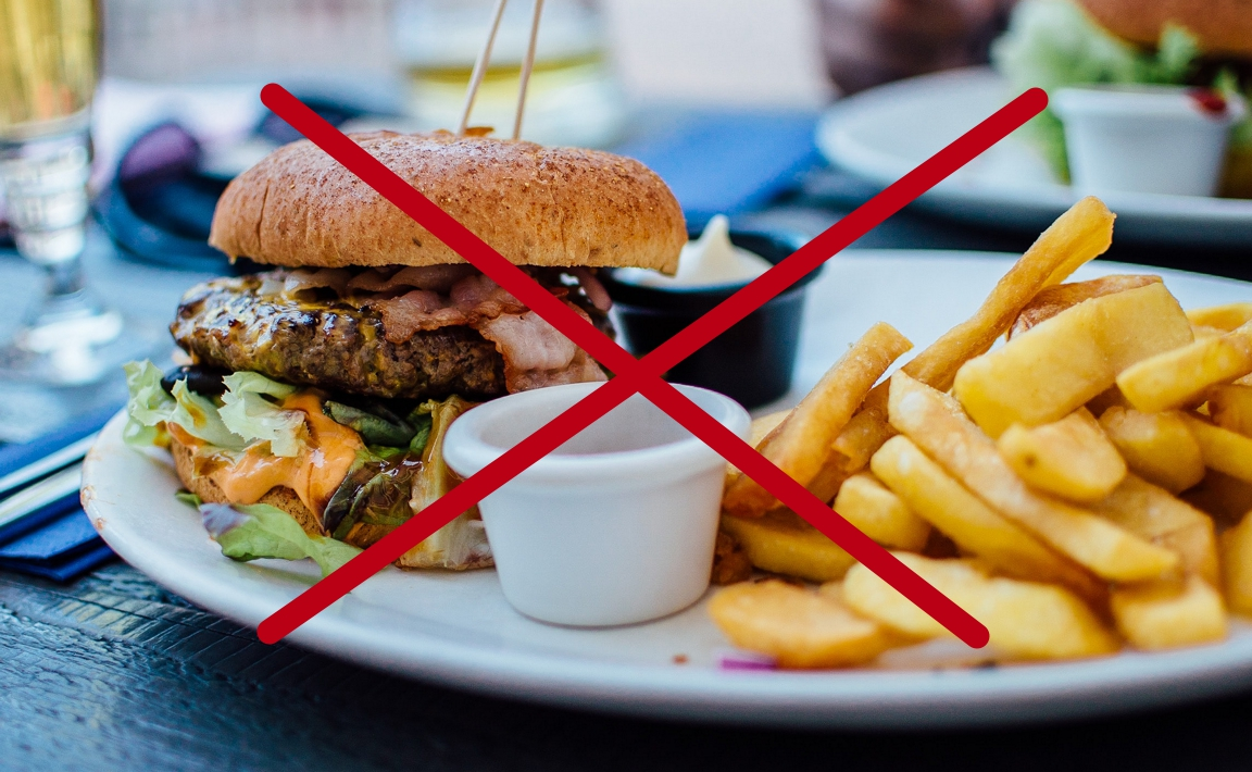 Приклад шкідливої їжі