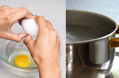 Скільки вариться яйце пашот