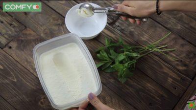 Морозиво, приготоване вручну