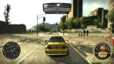 Игра лучшие гонки на компьютер Need for Speed: Most Wanted