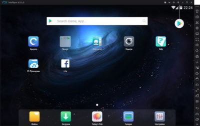 Nox App Player - програма-емулятор системи Android