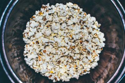 Как сделать попкорн на плите