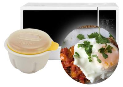 Как сделать яйцо пашот в микроволновке