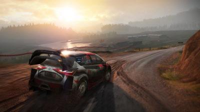 Игра лучшие гонки на компьютер WRC 7