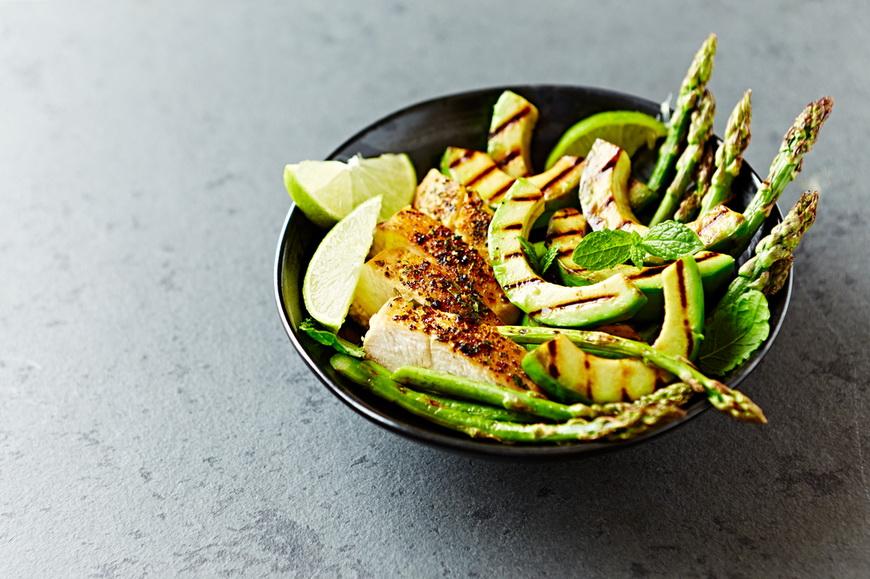 Авокадо-на гриле с мясом