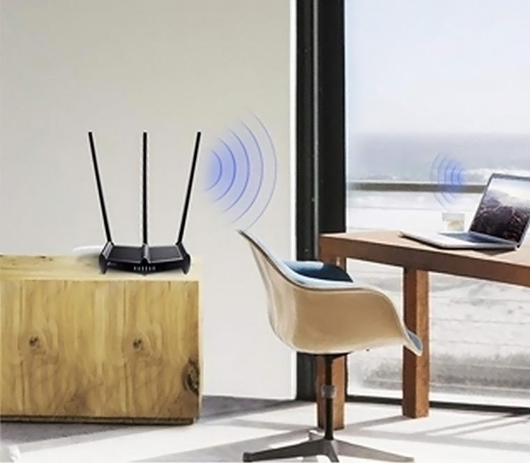 Беспроводная сеть в доме