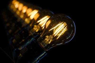 Філаментная лід лампа для дому