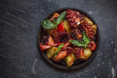 Рецепты с осьминогом
