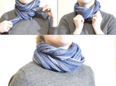 Как намотать шарф