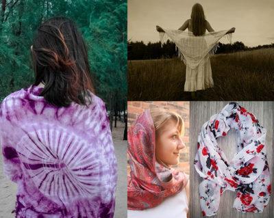 Як носити шарф влітку