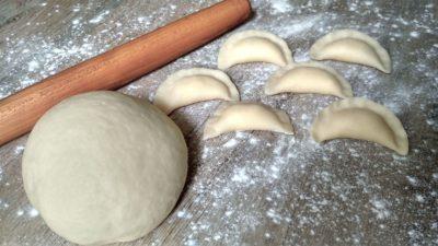 Рецепт теста на вареники