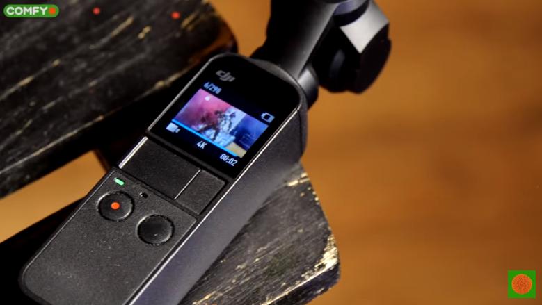 Как снимает камера DJI Osmo Pocket