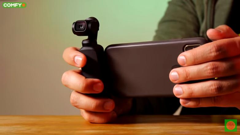 Работа с камерой DJI Osmo Pocket