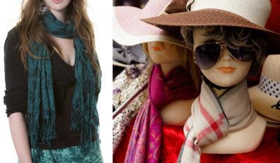 Cпособы завязать шарф