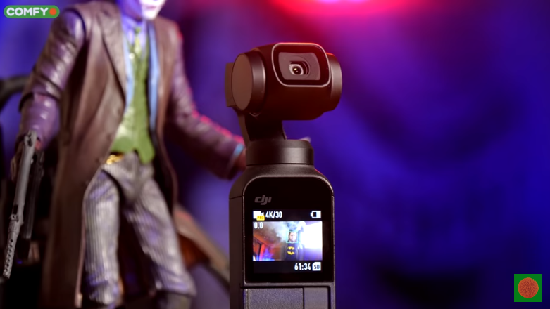 Качество съемки камерой DJI Osmo Pocket