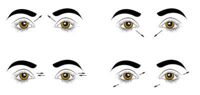 Упражнение для улучшения зрения