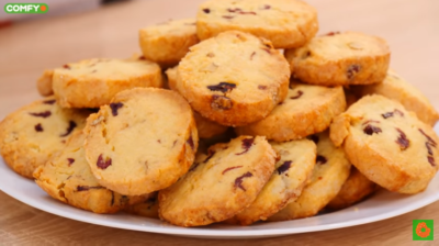 Нежное песочное печенье Сабле