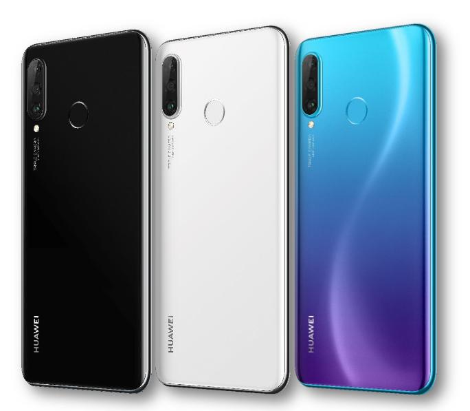 Huawei P30 Lite-расцветки модели