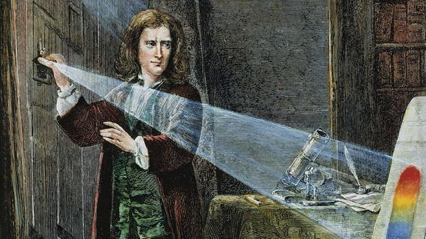 Исаак Ньютон-любопытный опыт