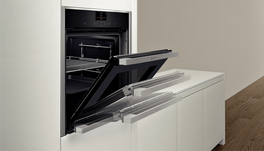 Как выбрать духовой шкаф - дверца духовки