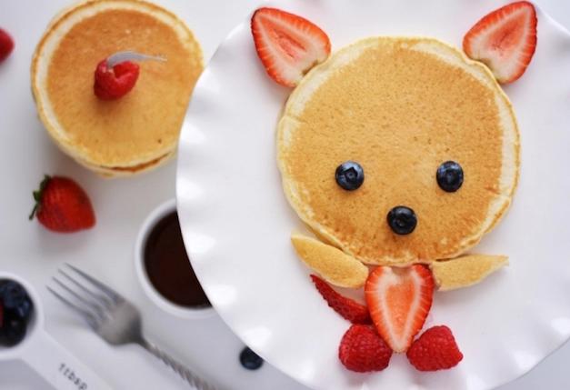 Креативный завтрак-для детей
