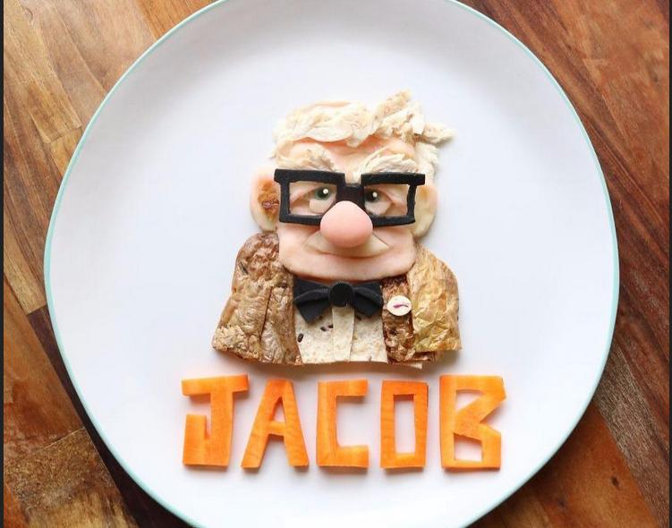 Креативный завтрак-герои Зверополиса