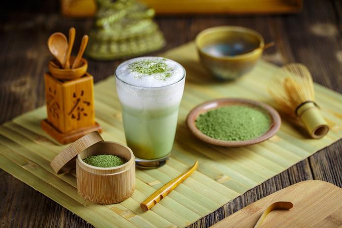 Матча-зеленый чай